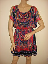 NWT ECI New York Multi-Color Dress Ladies Size 6