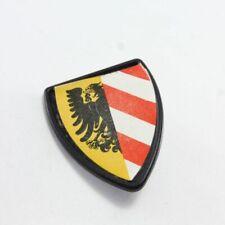 20612 Playmobil Bouclier Chevalier Vintage Aigle Noir 3409 3291 3265 3380 usé