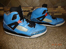 Mens JORDAN Spizike Sz 11 EUR 45 Blue/Black Hi-tops Athletic Shoes Brooklyn