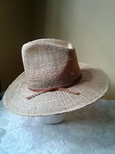 Rockmount Ranch Wear Ride Em Cowboy 2575 Straw Cowboy Hat 7 1/8 Denver Colorado