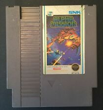 Alpha Mission (Nintendo, 1987) NES GAME ! Free shipping !
