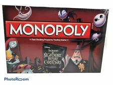 USAopoly Nightmare Before Christmas Collector's Edition Monopoly Brand NEW