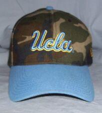 UCLA Bruins NCAA Fitted Hat/Cap Camo/Blue New Era 39THIRTY FlexFit Size M/L
