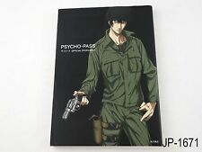 Psycho Pass Official Profiling 2 Japanese Artbook Japan Guide Book US Seller