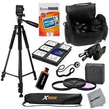 """Pro 60"""" tripod w/Deluxe SLR Case & 58mm 3pc Filter kit & for Nikon D3100 D3200"""