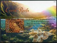 Grenada Grenadines Marine Animals Stamps 2020 MNH Coral Reefs Corals 1v S/S
