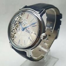ROLEX Elegant Half Skeleton Classic Pocket Watch