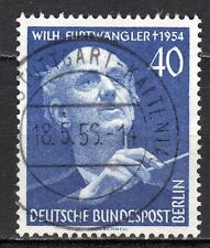 Germany / Berlin - 1955 Wilhelm Furtwängler (composer) - Mi. 128 VFU
