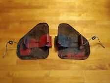 OEM Toyota Land Cruiser FJ40 FJ45 Kick Side Air Vent Doors & Spring Left Right