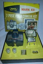 Vintage Imperial Mark XII 7 pc. flash camera kit in box
