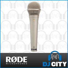 Rode S1 Vocal Condenser Microphone Live Performance Super Cardioid Mic - Silver