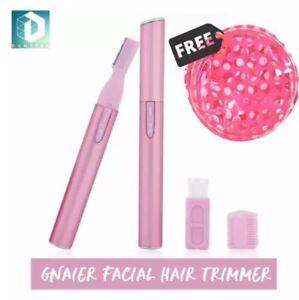 DUNSPEN GNAIER Precision Eyebrow Trimmer, Portable Face shaver, Facial Hair Remo
