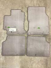 2001-2003 Prius Carpet Floor Mats Gray Pt208-47010-03 Oem Toyota Accessory