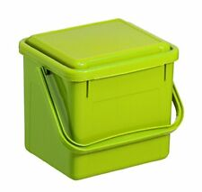 Rotho Abfallbehälter Küche Deckel Hellgrün Biomülleimer Biokomposteimer Kuns