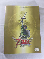 The Legend Of Zelda Skyward Sword Premiere edition Strategy Game Guide