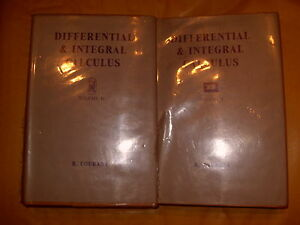 Differential & Integral Calculus Volume I & II By R Courant 1963 / 4