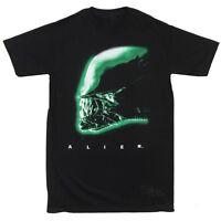 Alien Movie Profile Licensed Adult T-Shirt