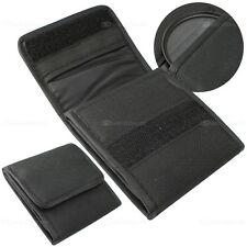Filtertasche für 3x UV Filter CPL  ND Schwarz Etui Filter pouch Tasche bis 67mm