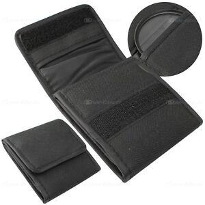 Filtertasche Tasche Etui für UV, CPL, ND für Kamera Filter von 37mm bis 67mm