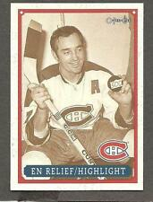 1993 OPC Fanfest Puck Canadiens' Frank Mahovlich Highlight