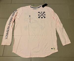 NWT Under Armour Mens 2XL Project ROCK Long Sleeve Shirt Blood Sweat Respect $40