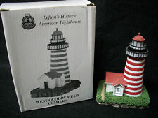 Lefton's Historic American Lighthouse West Quoddy Head Maine Ccm12429 *Mib*