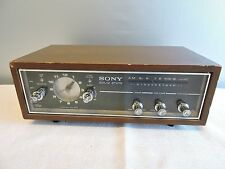 Sony 8RC-54 Solid State 6 Transistor 1 Band AM Clock Radio