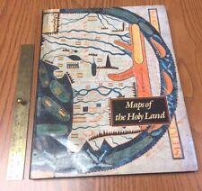 Huge MAPS OF THE HOLY LAND Kenneth Nebenzahl IMAGES OF TERRA SANCTA 2000 YEARS