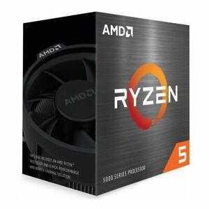 """AMD Ryzen 5 5600X 6x 3.7GHz """"Vermeer"""" So AM4 65 Watt boxed Wraith Stealth Kühler"""