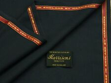 55%POLYESTER 45%WOOL NAVY SHADE SUITING FABRIC 3.5M - MADE IN ENGLAND