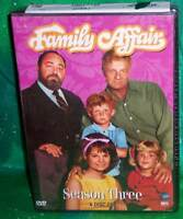 BRAND NEW FAMILY AFFAIR COMPLETE THIRD 3RD SEASON 3 THREE TV 5 DISC DVD SET 1968