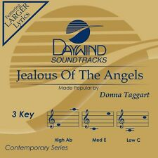 Donna Taggart - Jealous Of The Angels -  Accompaniment CD NEW