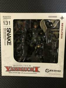 Authentic Revoltech Yamaguchi SNAKE 131: Metal Gear Solid Free Shipping Japan