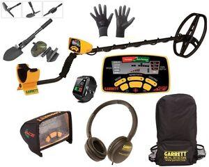 Garrett metal detector Euro Ace 350 + zaino cuffia copri pala guanti orologio