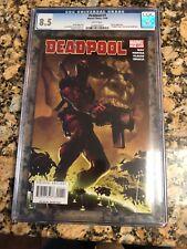 Deadpool #1 CGC 8.5 From 11/08 Skrulls & Deadpool Saga