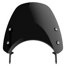 Moto Guzzi V7 Mk I/II - Dart Classic Flyscreen Windscreen in Midnight Tint