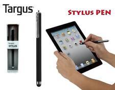 TARGUS STYLUS BLACK PEN FOR TABLET IPAD IPOD IPHONE MOBILE SMART PHONES NEW
