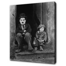 CHARLIE CHAPLIN THE KID CANVAS PRINT PICTURE WALL ART HOME DECOR FREE DELIVERY