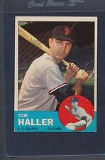 1963 Topps #085 Tom Haller Giants VG/EX *490