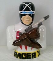Racer X Cookie Jar Speed Racer Vintage With Box Limited Edition 211 of 5000 15""