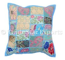 Patchwork Cushion Cover Ethnic Decorative Vintage Throw Pillow Case Boho Cover