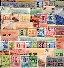 FRANCE Colis Postaux lots de 25 à 100 timbres différents