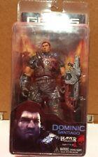 NECA 2006-2008 Gears Of War Dominic Santiago Action Figure MOC