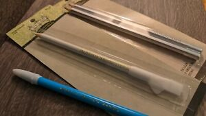 Sewology Silver & White Marking Pencils / Miracle Tailor's Pencil (blue, Japan)