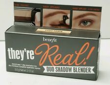 Benefit they're Real 1 Step Eyeshadow Duo Blender FOXY FAWN Full Size NEW