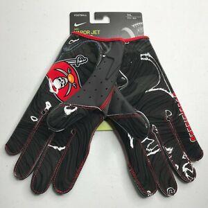 Nike Vapor Jet Magnigrip Football Receiver Gloves Tampa Bay Bucs PGF902-223 3XL