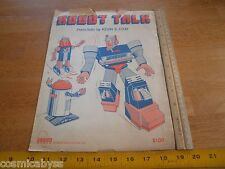 ROBOT Talk 1986 sheet music Kevin E Cray