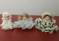 "Cameo Kids Miniature Dolls Set Of 3 incl. Susana and Riley 2.5"""
