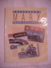 1993 Book, GREENBERG'S MARX TRAIN CATALOGUES 1938-1975 by Cindy Lee Floyd