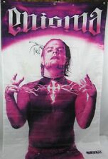 """Rare Wwe Impact Wrestling 58"""" X 34"""" Flag Banner ~ Autographed Signed Jeff Hardy"""